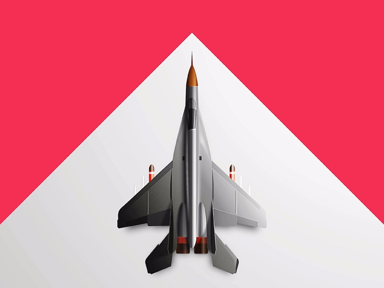 Fighter Jet MIG-29 - vector ill - kirp | ello