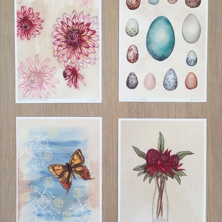 Prints Etsy store - prints, watercolour - jenniferemilymagno | ello