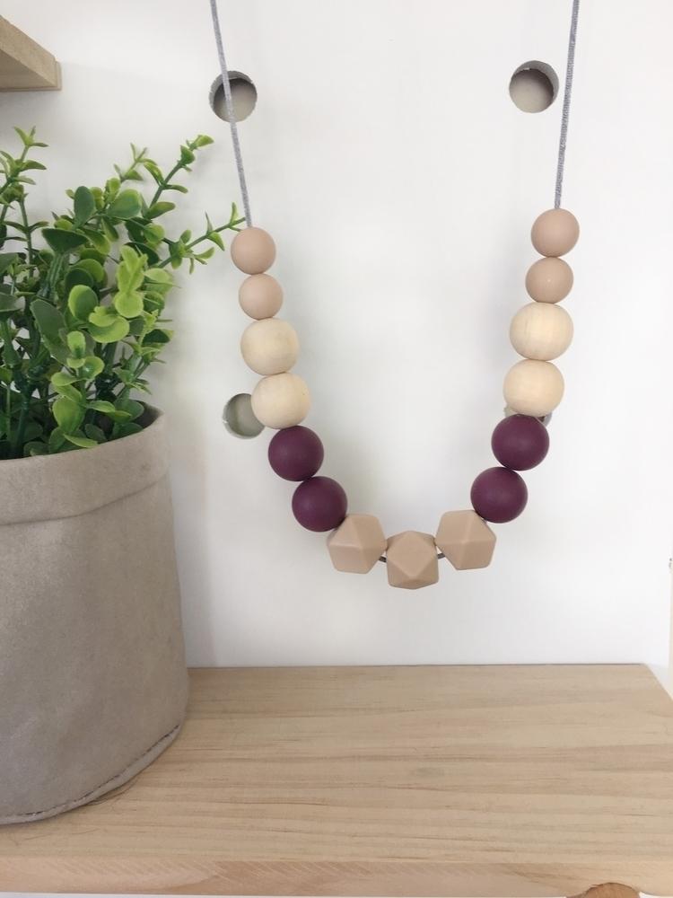stunning Lola necklace eggplant - milaandharrydesigns | ello