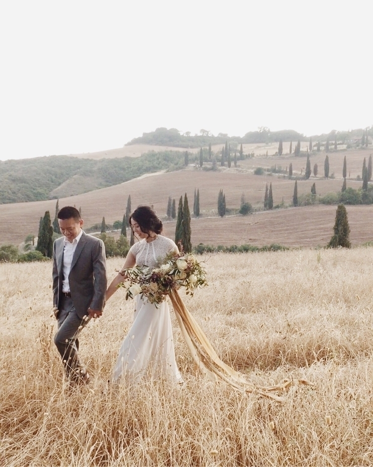 Tuscan sun. Destination wedding - katiegrant | ello