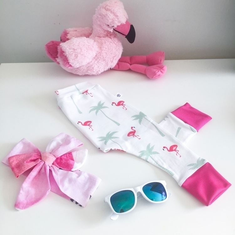 Saturday ready Flamingo Love re - littlewombatcrafts | ello