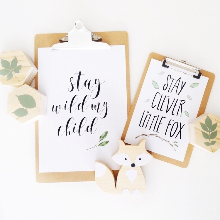 // wild fox ♡ Gorgeous prints W - _oliveandjem_ | ello