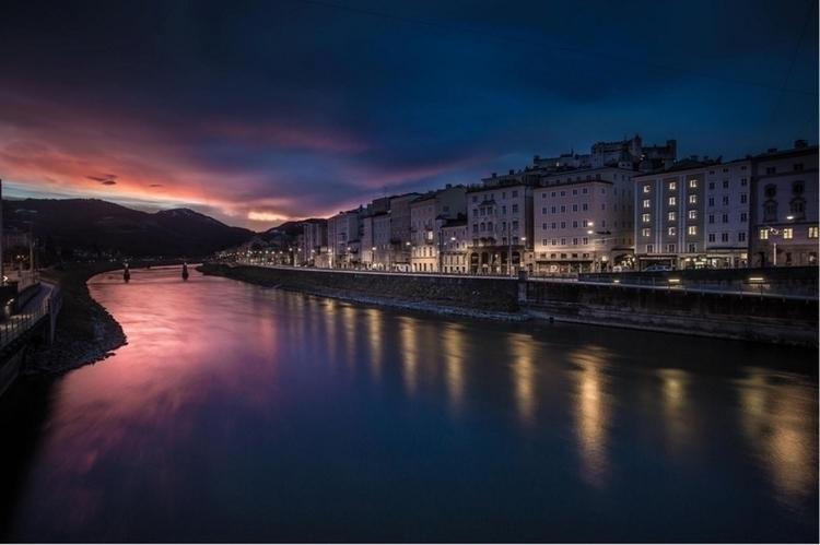 Hard beat sunrise Salzburg, Aus - afaulkphoto | ello