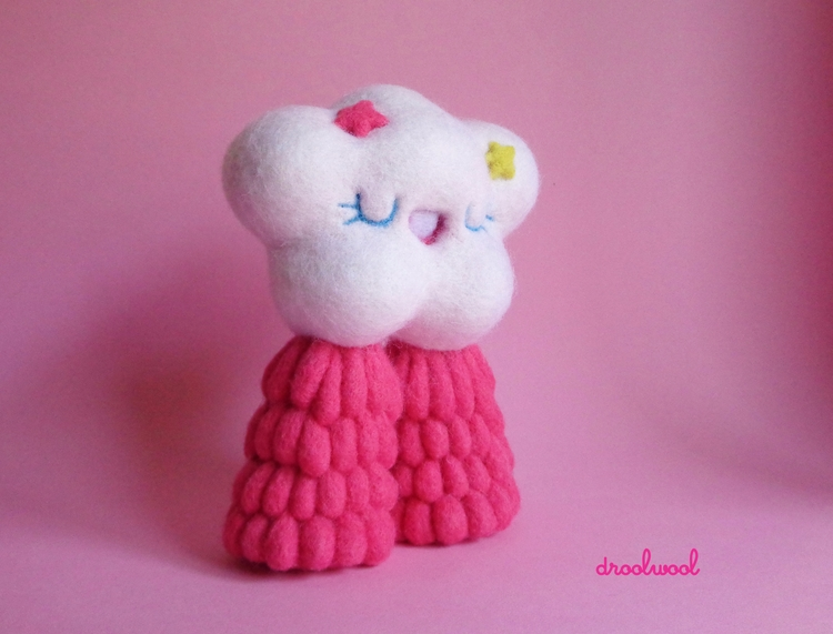 fluffy cloud waiting visit Clut - droolwool | ello