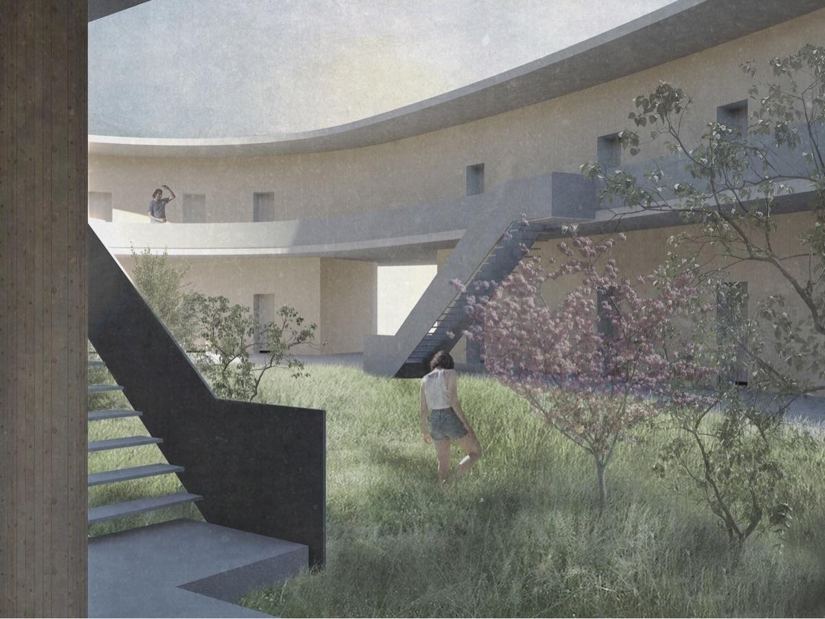 architecture, archistudent, semesterproject - baukuenstlerin | ello