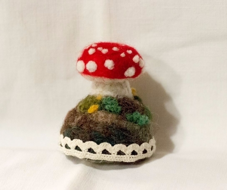 SOLD Amanita sculpture (2016) 2 - jinnyly | ello