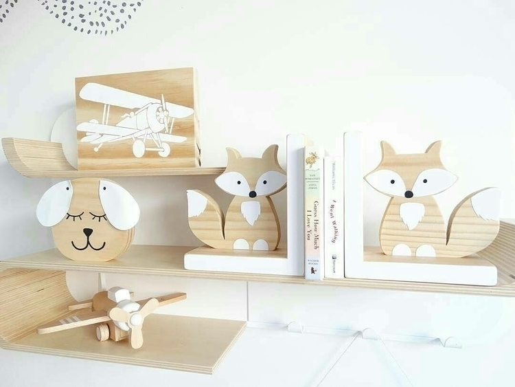 Beautiful white wood shelfie am - woodlandends | ello