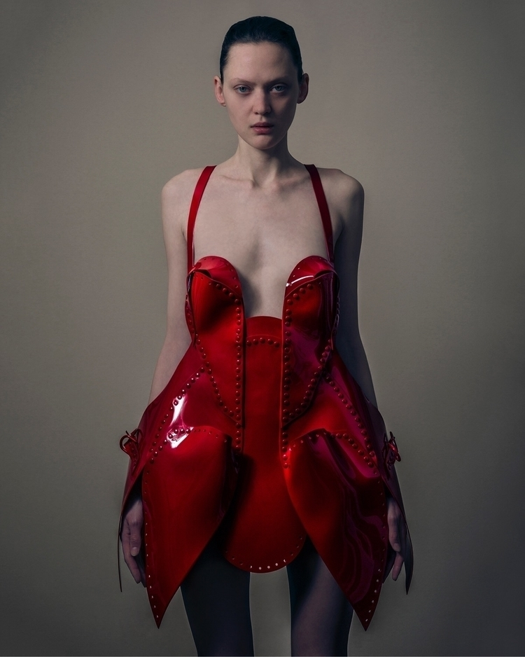 2 July 70 Orchard st - red, dress - jivomir_domoustchiev | ello