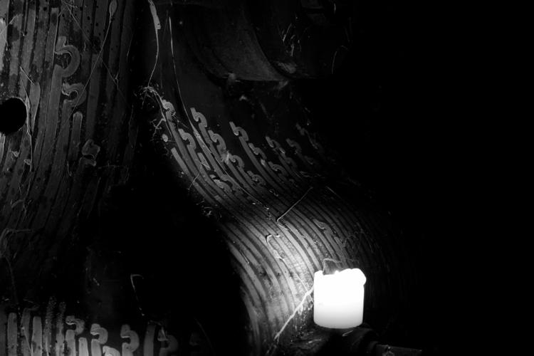 candles, ritual, sacrifice, urbex - yellabor | ello