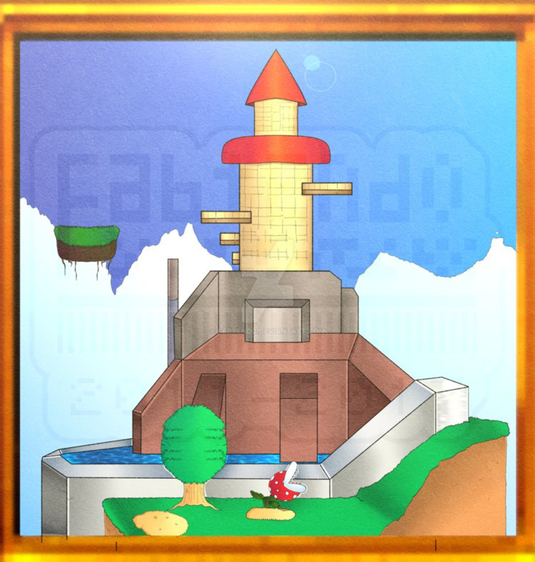 illustration Fortress drawing d - pineappa | ello