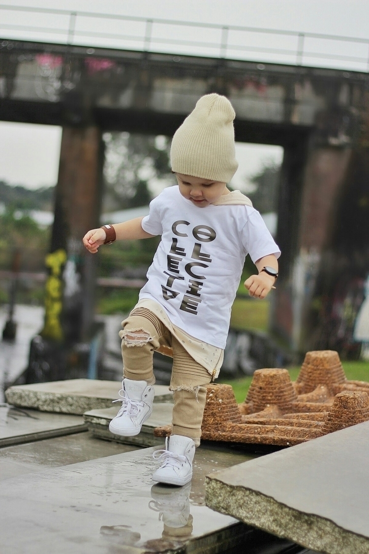 Tribal Collective tee website.  - collectivekidsthreads | ello