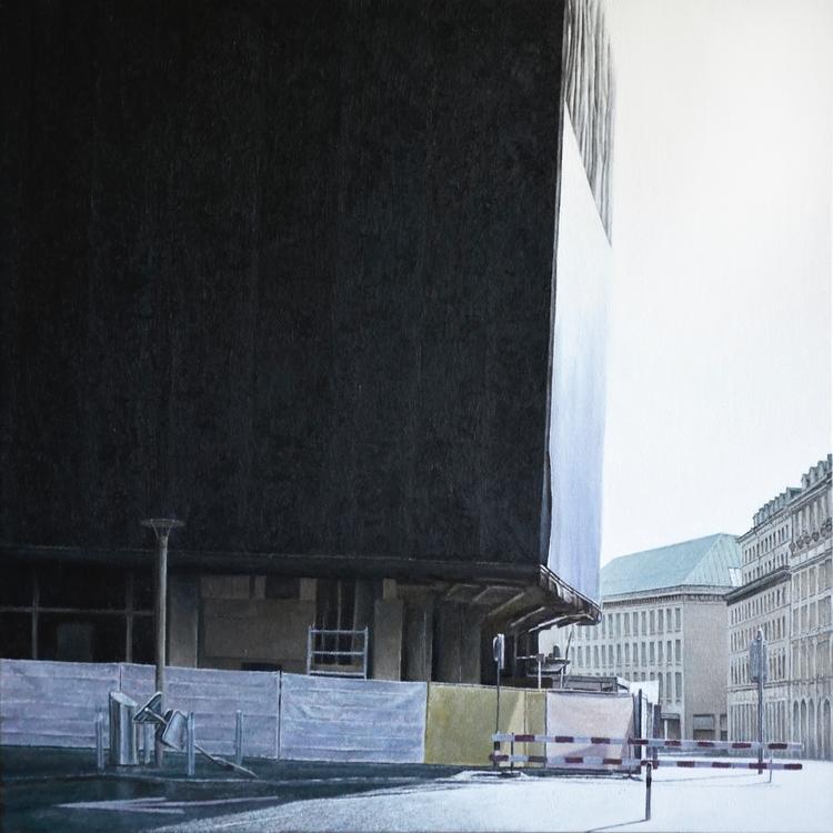BAHNHOF STREET 2014, 60 × cm, o - christopheberle | ello