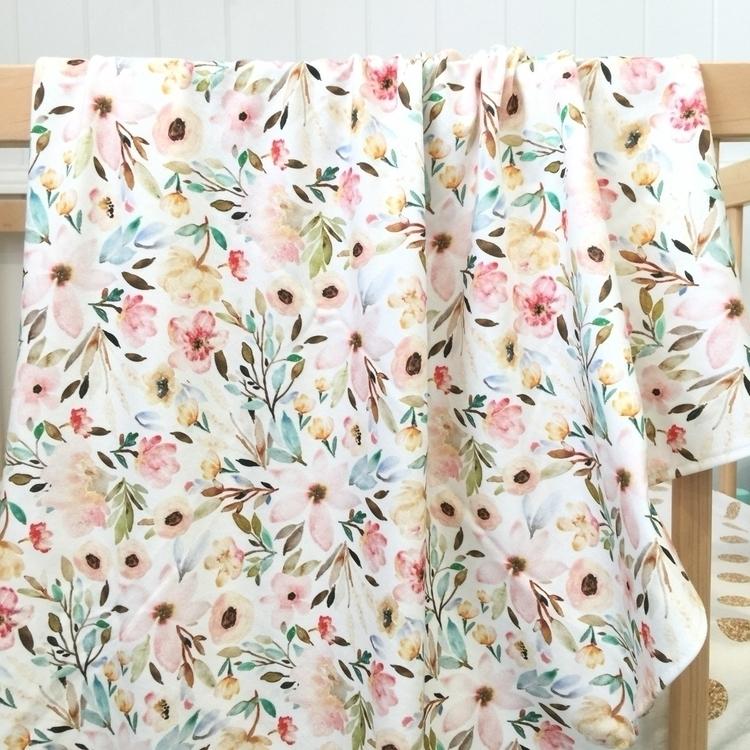 pastel floral organic cotton kn - bubbleslane   ello