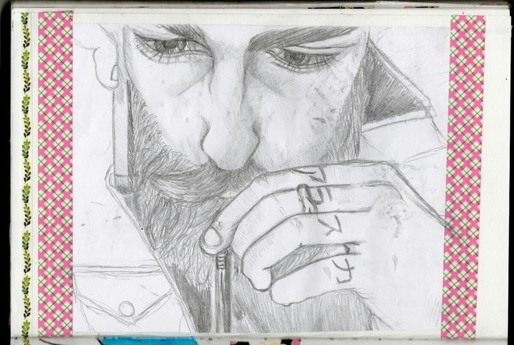 drawing, sketch, illustration - doitforshrek | ello