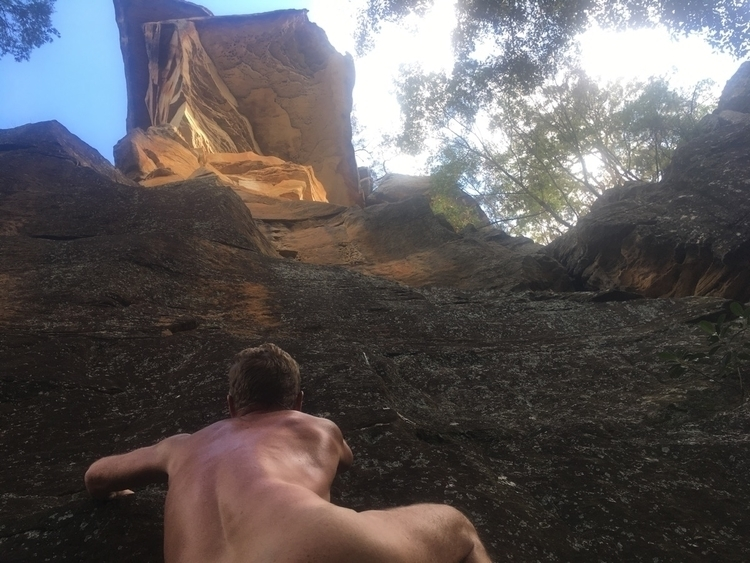 favourite cliff face lunch toda - nudeyman | ello