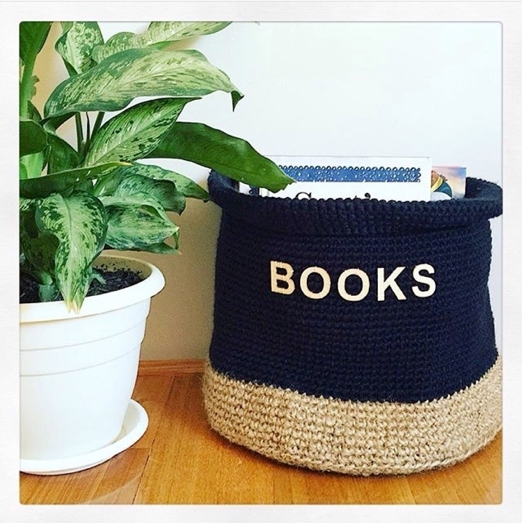 personalise baskets wooden lett - sashcreativedesigns | ello