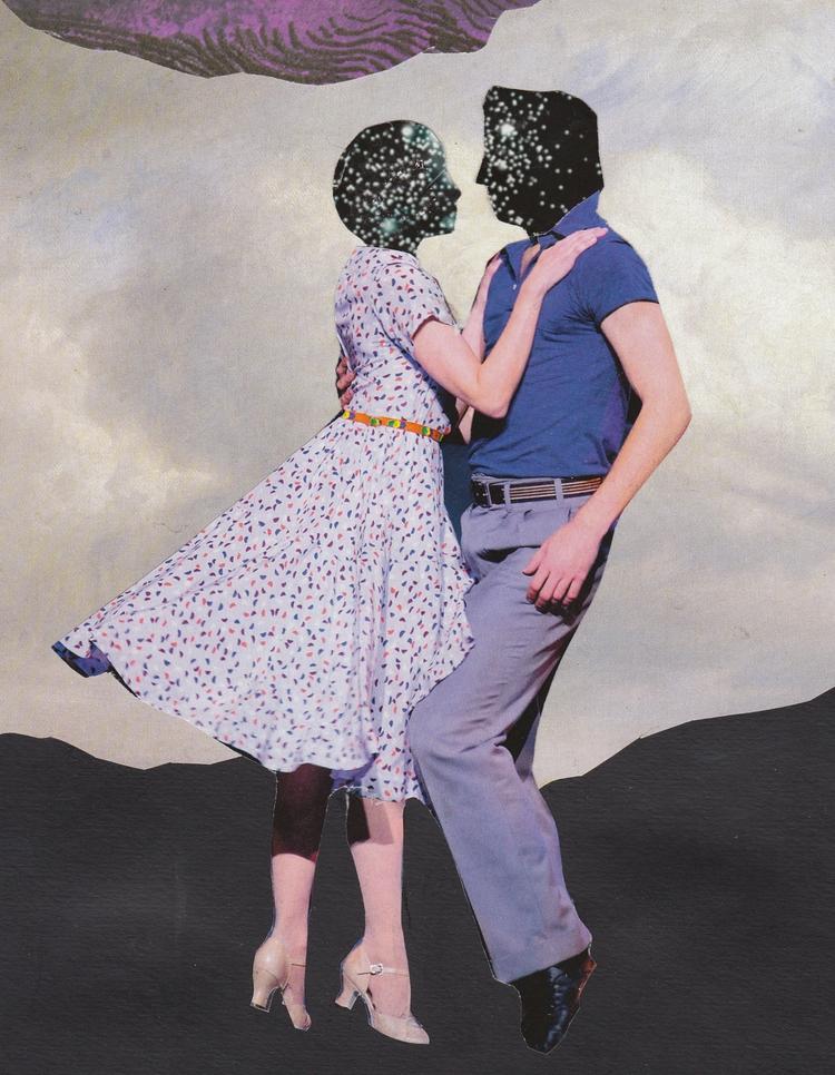 Incognito Analogue collage crea - jeanneteolis   ello