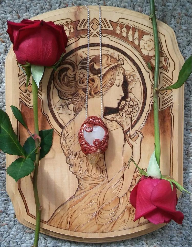 Healing rose quartz citrine spi - hyrulian_creations | ello