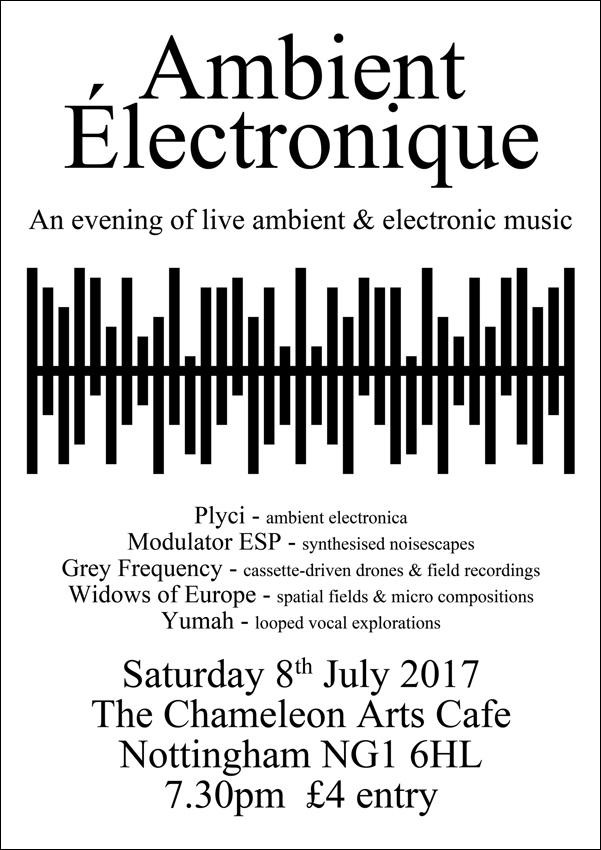 Ambient Électronique evening li - greyfrequency | ello
