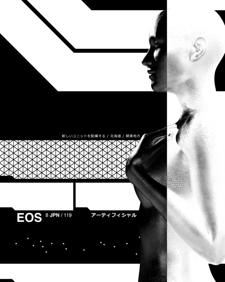 EOS  - photoshop, render, 3d, digital - timsandwick   ello