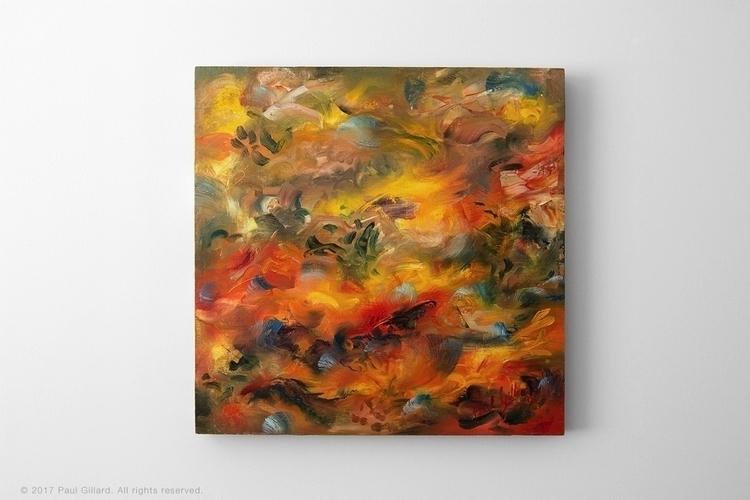 Title: 'Dance spirit' Oil paint - paulgillard | ello