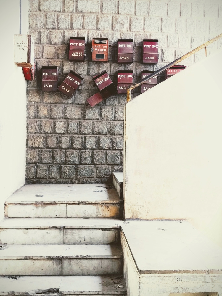 | MESSAGE - postbox, mailbox, alignment - ishwarasandeshcm | ello