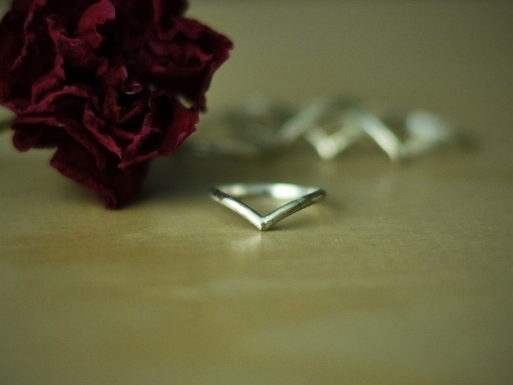 Simple sterling silver rings si - alaskamooon | ello