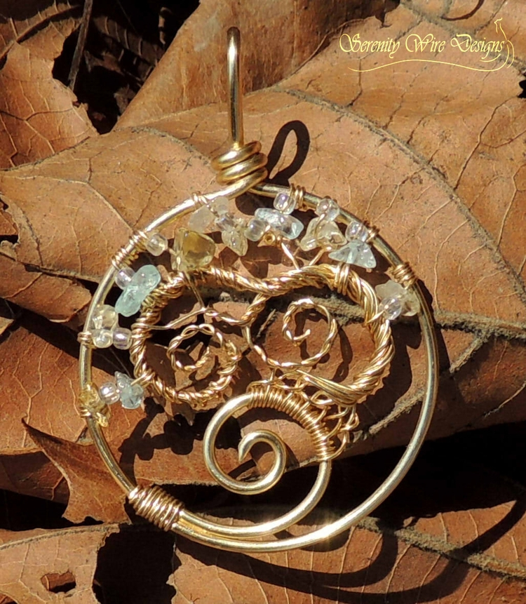 tree life pendant inspired favo - serenitywiredesigns | ello