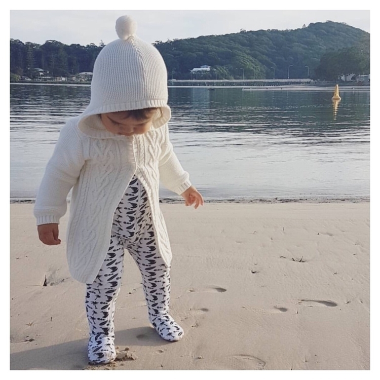 Sweet Myla making weekend Ocean - littlebeanorganics | ello