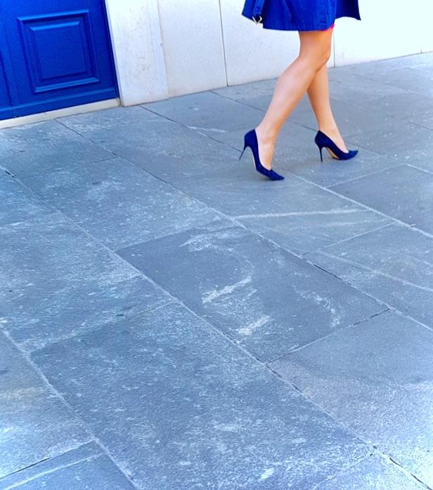 Deep blu, Uptown, Geneva - Legs - ziolele | ello