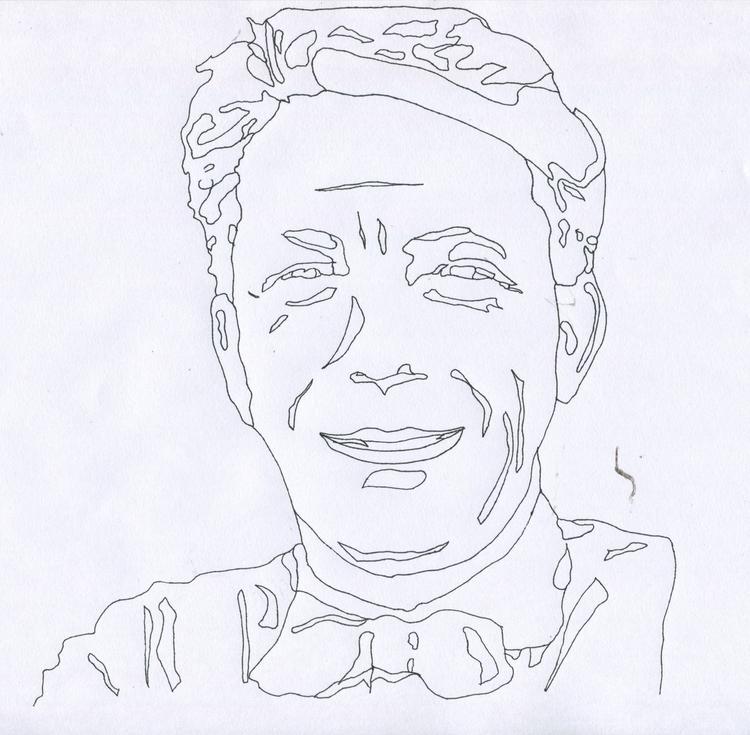 Portrait João Batista Villanova - sophieillustration | ello