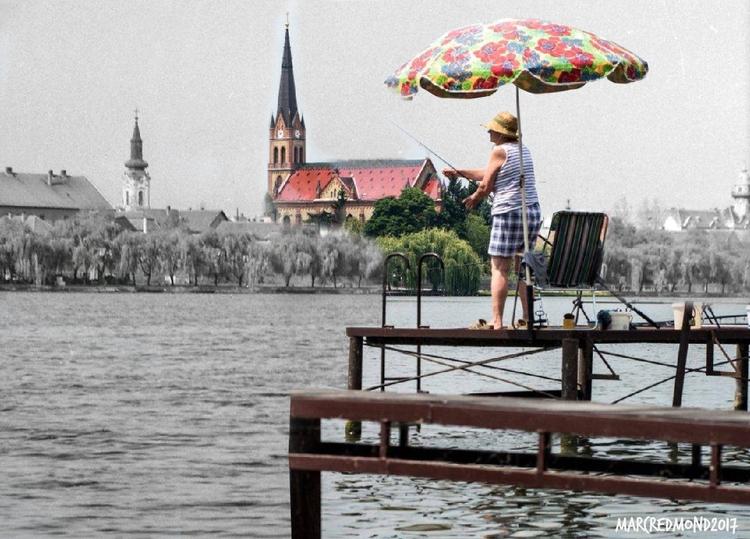Fishing Danube Budapest 1973 -  - marcredmond | ello