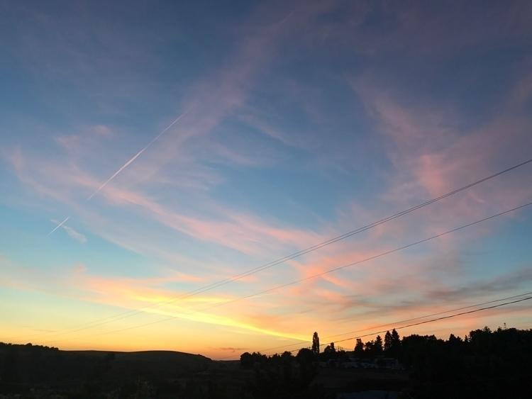 sunset night beautiful - sarahymurphy | ello