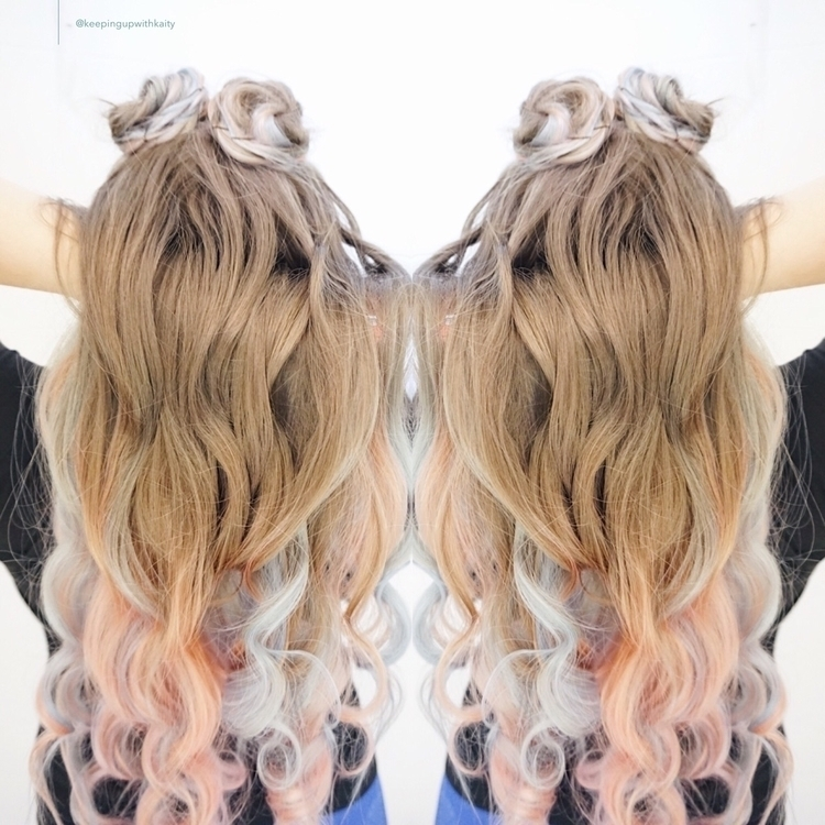 call cotton candy ombré . semi - keepingupwithkaity | ello