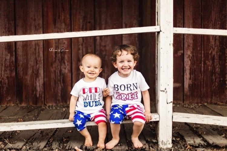 happy boys 4th July outfit!:hea - littlewarriorsapparel | ello