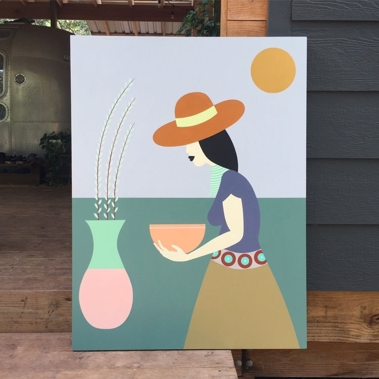commission - painting, elloart - adrianlandonbrooks | ello