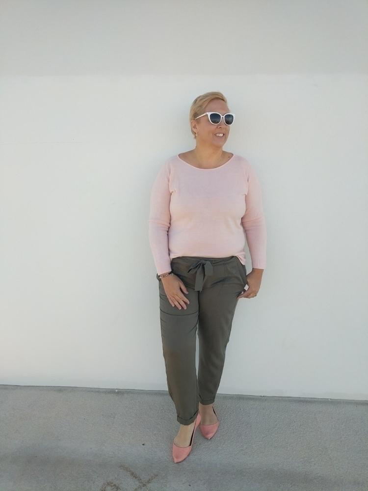 Khaki pants wear edit wardrobe - searchingforjules | ello