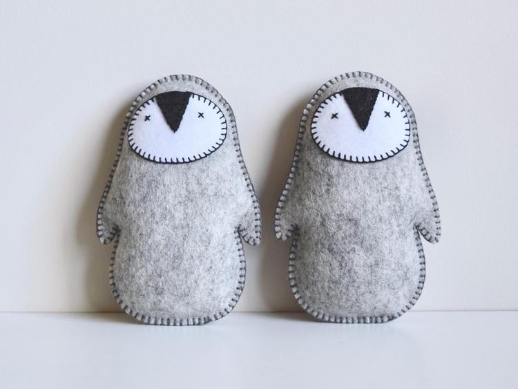 Penguins store Handcrafted meri - petithabitat   ello