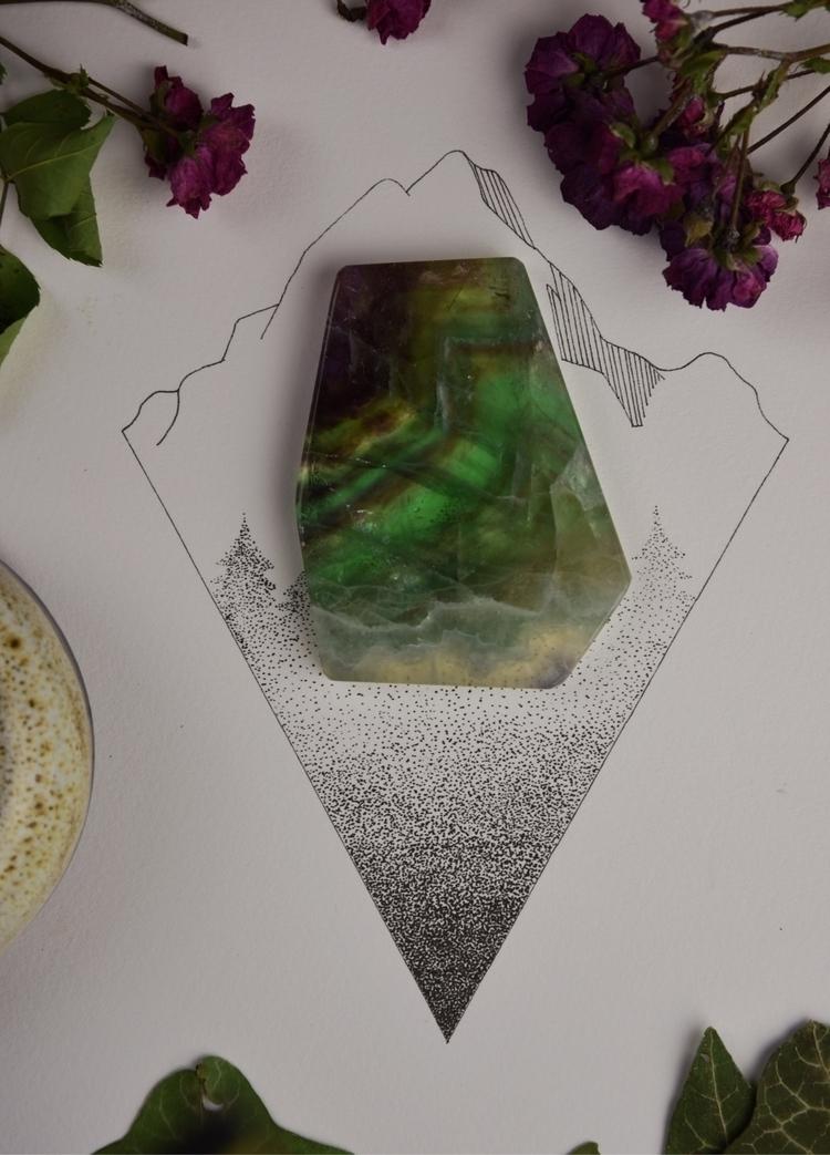 Fluorite slab shop - Metaphysical - theeancients   ello
