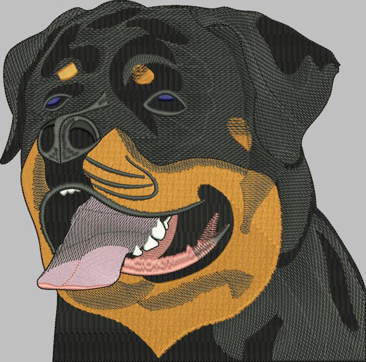 terrific embroidery dog - deanambro101 | ello