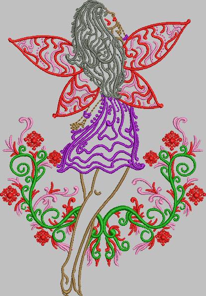fairy embroidery design - deanambro101 | ello