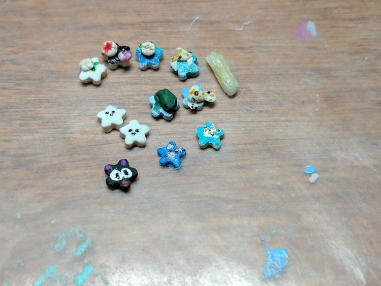 micro stars (3/16 size) polymer - distortedbear | ello