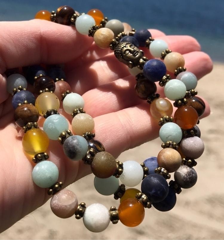 love necklace earthy colors gor - earthandspirittraders | ello