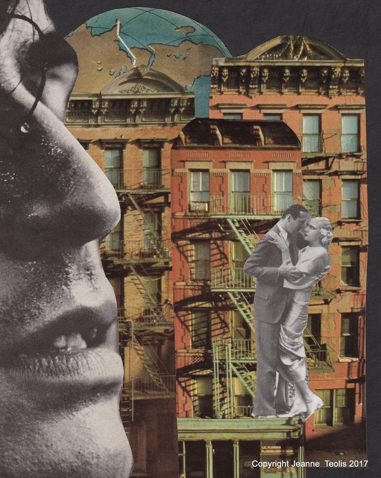 Collage created Jeanne Teolis - analogue - jeanneteolis | ello