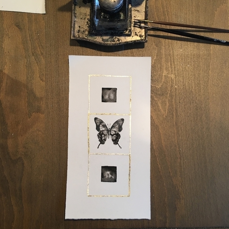 Check listing - art, fineart, ink - alexakarabin | ello