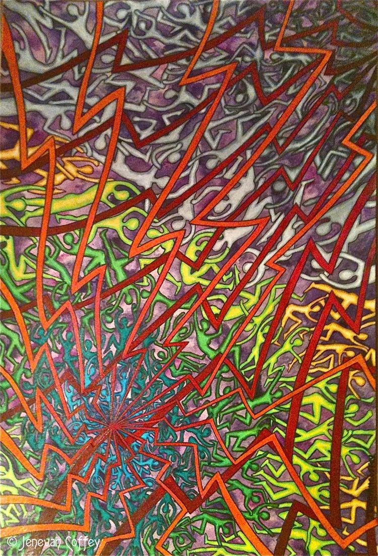 Pain Prismacolor Pencil waterco - 13thmuse | ello