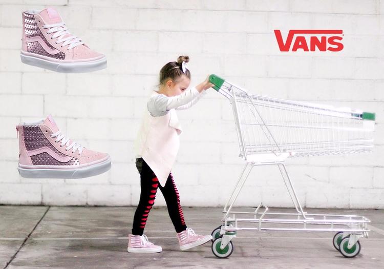 Pretty Pink. love Vans toddlers - kidsgotsole | ello