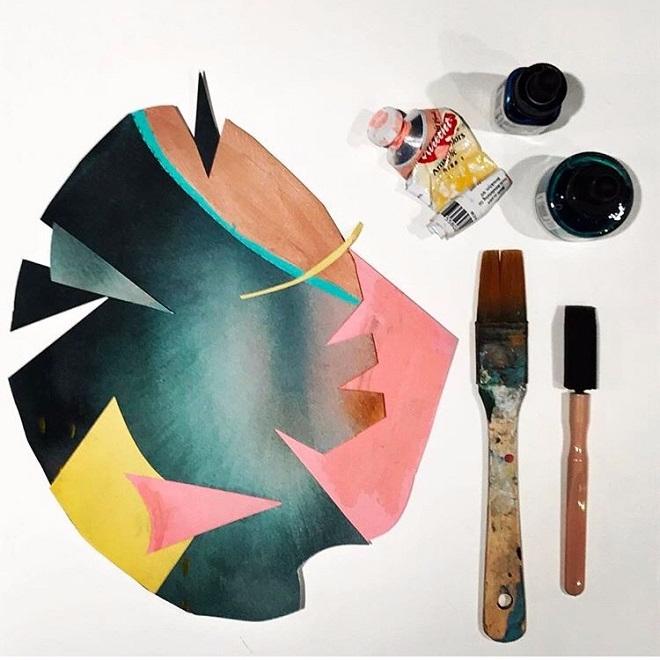 Monday crush: playful abstracts - sandraapperloo | ello