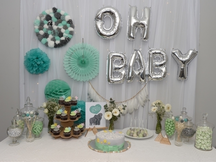 fun styling baby shower weekend - inquistiveheart | ello