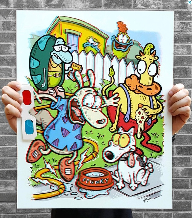 hoot!!! Original poster illustr - bradalbright | ello